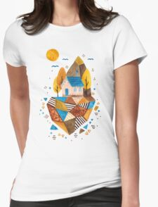 Homey Rock Womens Fitted T-Shirt