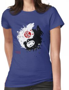 Spirits Yin-Yang Womens Fitted T-Shirt