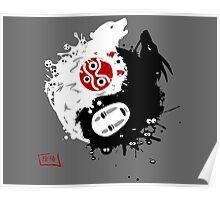 Spirits Yin-Yang Poster