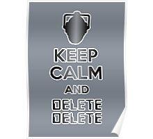 Cyberman Delete Delete Poster