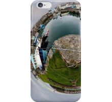 Hurry Head Harbour, Carnlough, County Antrim - Sky out iPhone Case/Skin