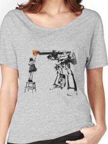 Megatron - Peace Through Botany Women's Relaxed Fit T-Shirt