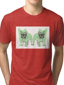 Theo the Frenchie Tri-blend T-Shirt