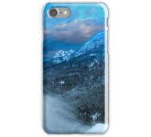 Winterliche Berge iPhone Case/Skin