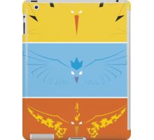 Pokemon - Legendary Birds iPad Case/Skin