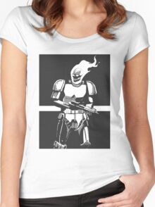 Ghost Rider Storm Trooper Women's Fitted Scoop T-Shirt