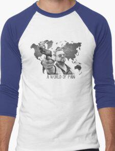 A World Of Pain b Men's Baseball ¾ T-Shirt