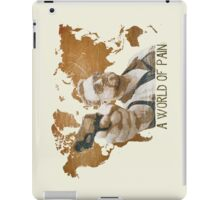 A World Of Pain iPad Case/Skin