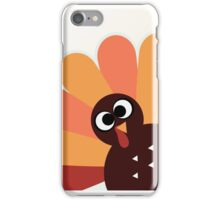 Happy thanksgiving Day Turkey iPhone Case/Skin