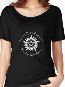 Supernatural Not Alone v2.0 Women's Relaxed Fit T-Shirt