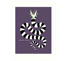 beetlejuice - sandworm Art Print