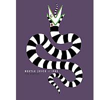 beetlejuice - sandworm Photographic Print
