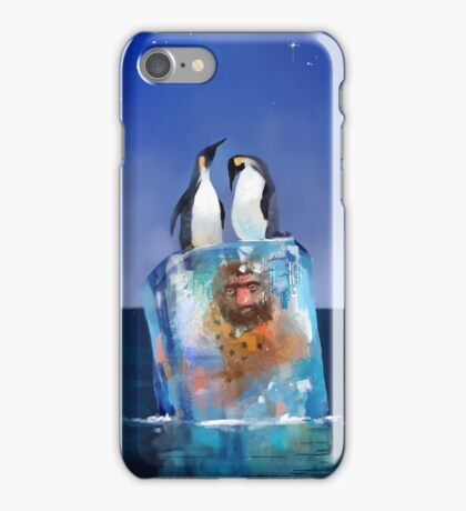 Icy Situation iPhone Case/Skin