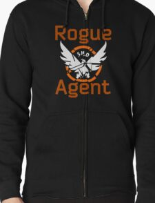 The Division Rogue Agent Zipped Hoodie