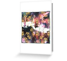 Inky Madness Greeting Card