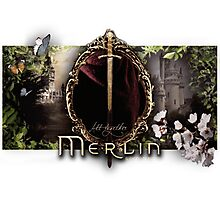 Merlin logo Photographic Print