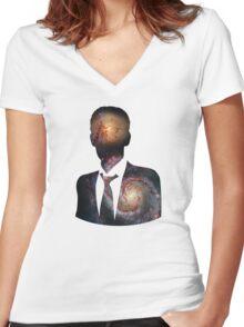 Inner Solar Sanctum Women's Fitted V-Neck T-Shirt