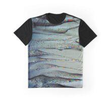 Plastic Liquid Glitch Graphic T-Shirt