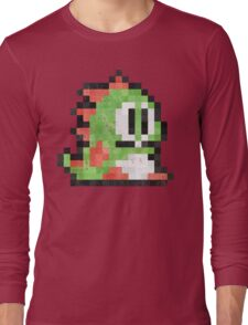 Bubble Bobble Green Dragon  Long Sleeve T-Shirt