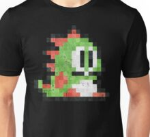 Bubble Bobble Green Dragon  Unisex T-Shirt