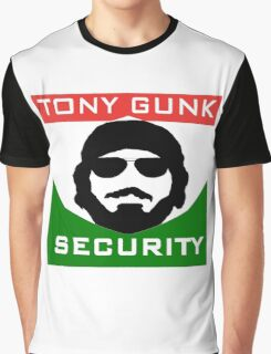 Tony Gunk Security Graphic T-Shirt