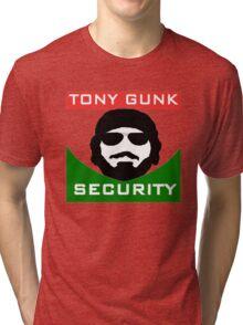 Tony Gunk Security Tri-blend T-Shirt