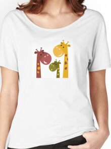 Beautiful #safari animals collection Women's Relaxed Fit T-Shirt