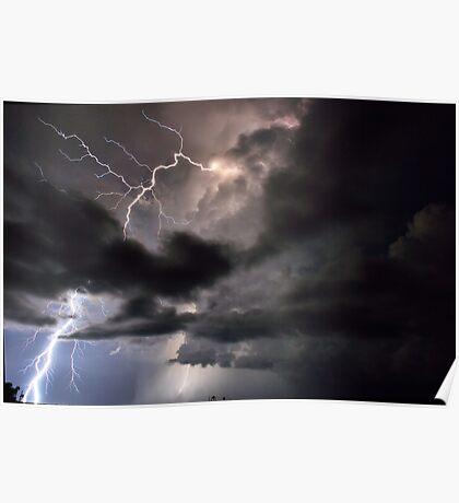 Lightning in HDR Poster