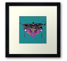 Darkwing Duck Bat Framed Print