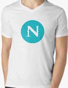 N Spontanious Mens V-Neck T-Shirt