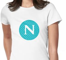 N Spontanious Womens Fitted T-Shirt