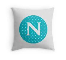 N Spontanious Throw Pillow
