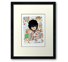 Parfait Sweets and Desserts Anime Framed Print