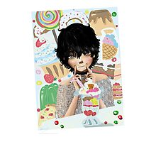 Parfait Sweets and Desserts Anime Photographic Print