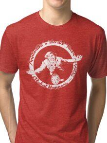 Appledelhi's World Tour Tri-blend T-Shirt