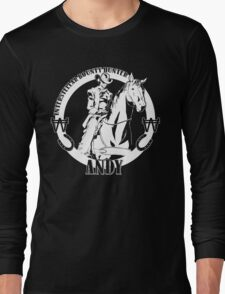 Andy - Intertstellar Bounty Hunter Long Sleeve T-Shirt