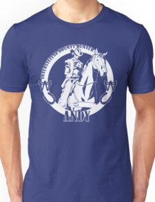 Andy - Intertstellar Bounty Hunter Unisex T-Shirt