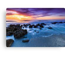 Casperson Beach Sunset Canvas Print