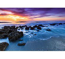 Casperson Beach Sunset Photographic Print