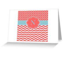 Pinky N Greeting Card