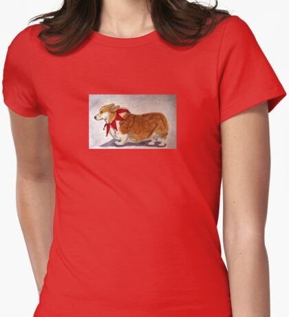 Dashing Through The Snow, Surely You Jest Womens Fitted T-Shirt