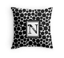 N Bubbelz Throw Pillow