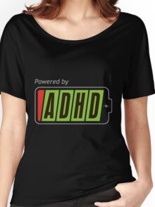 Powered By ADHD Women's Relaxed Fit T-Shirt