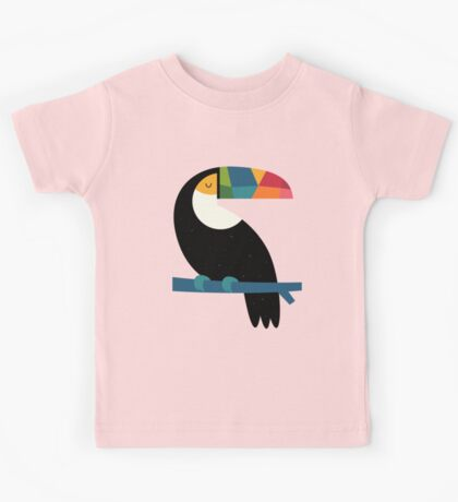 Rainbow Toucan Kids Tee