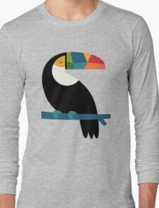 Rainbow Toucan Long Sleeve T-Shirt