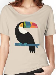 Rainbow Toucan Women's Relaxed Fit T-Shirt