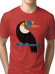 Rainbow Toucan Tri-blend T-Shirt