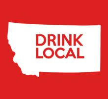 Montana Drink Local MT Kids Tee