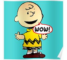 Charlie Brown Wow Poster