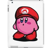 Kirby With Mario Hat Fanart iPad Case/Skin